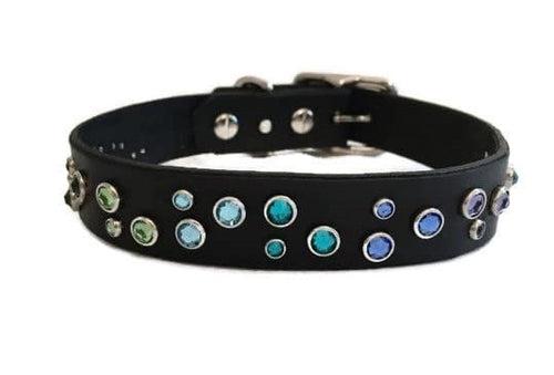 Designer Dog Collar with Swarovski Rhinestones
