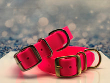 BioThane® Dog Collar in Hot Pink