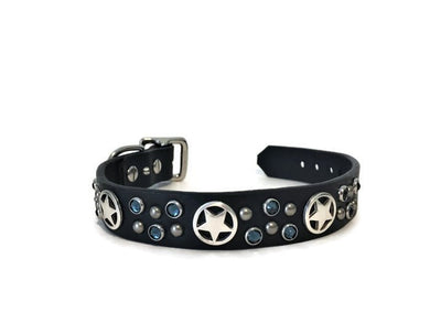 Star Montana Blue Dog Collar