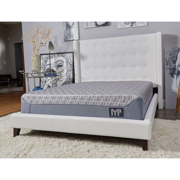 bedGear M3 Mattress And Frame In Room
