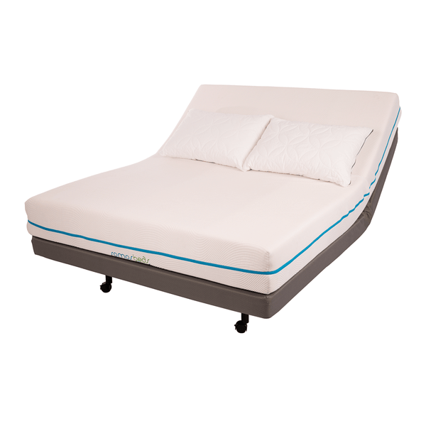 Somosbeds Conforma Memory Foam Mattress On An Adjustable Base