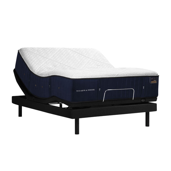 Stearns & Foster Hepburn Luxury Firm Mattress on an Adjustable Base