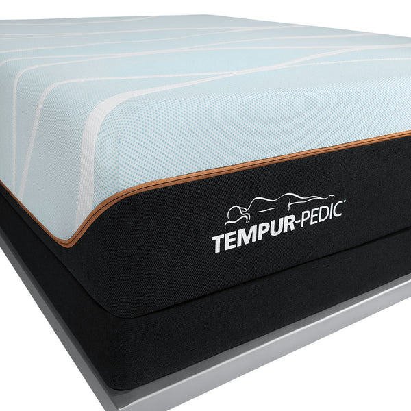 TEMPUR-LUXEBREEZE° FIRM MATTRESS CORNER LOGO