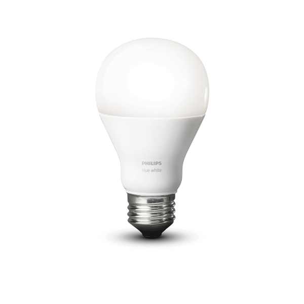 Philips Hue White A19 Single Bulb image 23472387023