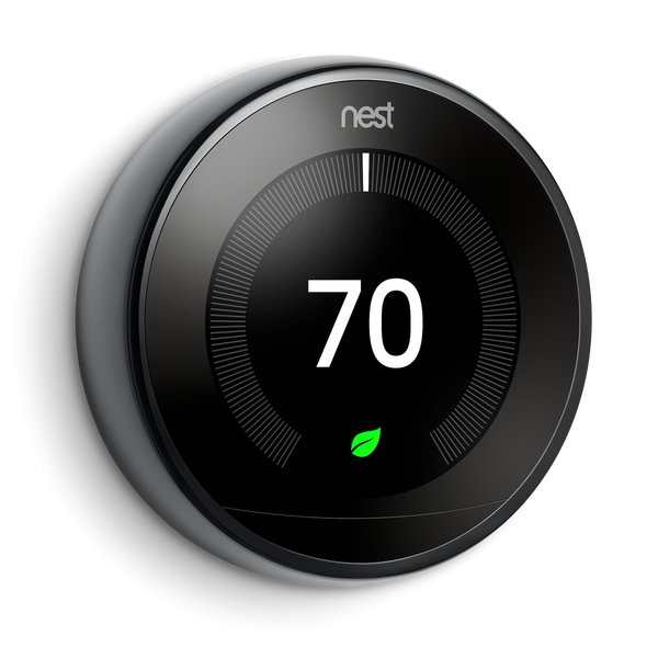 Nest Learning Thermostat with Google Home Hub image 5595975450694