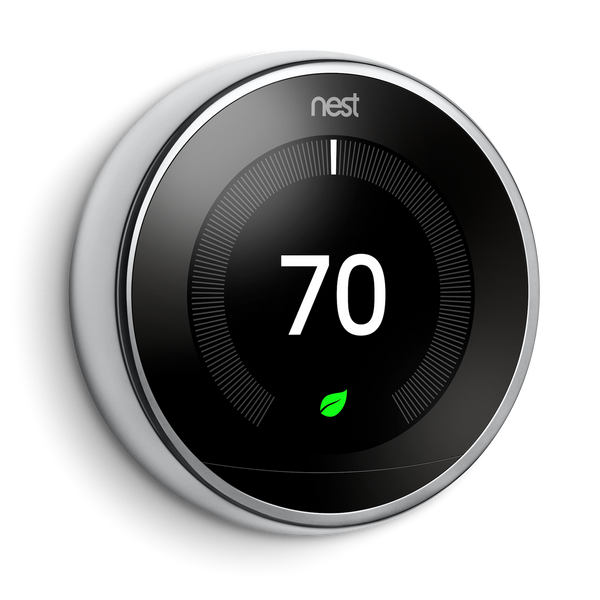 Nest Learning Thermostat with Google Home Hub image 5595975417926