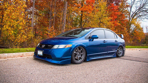 Airlift - Honda 8th Gen Civic Air Ride Kit - becausebags