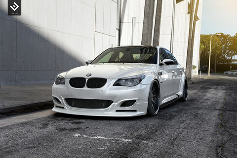 Enlaes - BMW E60 M5 Front Lip Apron - becausebags
