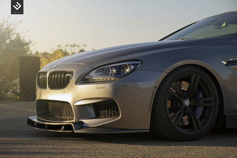 Enlaes - BMW F06/F12/F13 M6 2-Piece Front Lip - becausebags