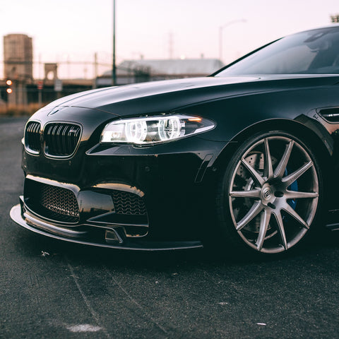 Enlaes - BMW F10 M5 Front Lip - becausebags