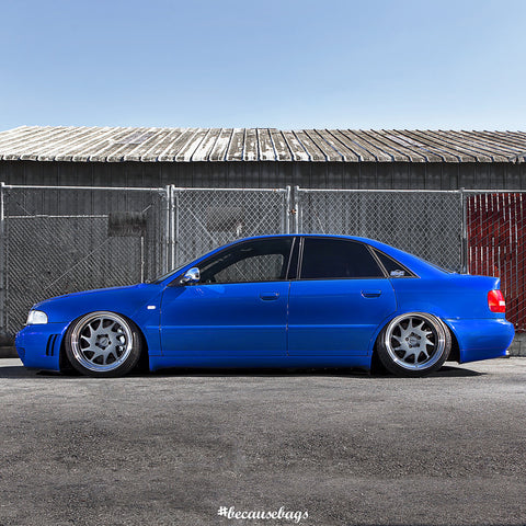 Airlift - Audi B5 Chassis Air Ride Kit - becausebags