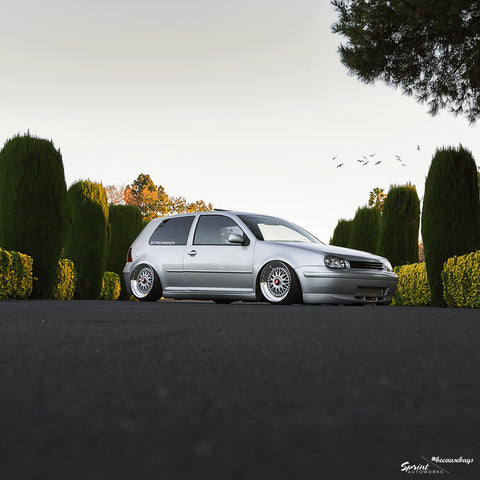 Airlift - Volkswagen Mk4 Chassis Air Ride Kit - becausebags