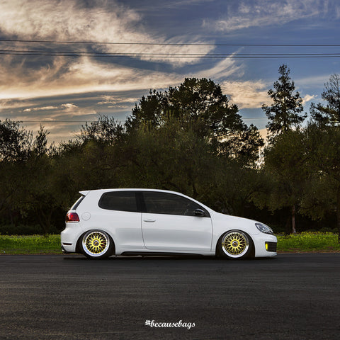 Airlift - Volkswagen Mk5/6 Chassis Air Ride Kit - becausebags