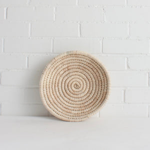 New! Palm Leaf Woven Plate