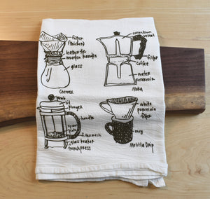 Coffee Lover Tea Towel