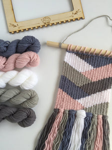 Blush Woven Tapestry Kit