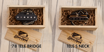 Tele pickups with a twist. What makes Silver Hand Tele Pickups stand out?
