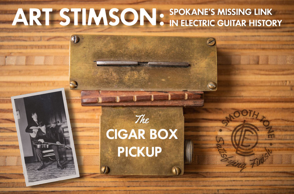 Art Stimson historic electrical guitar pickup
