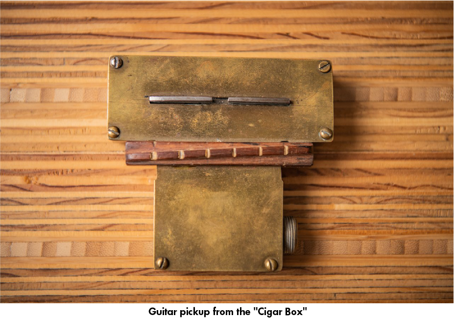 The Cigar Box Pickup