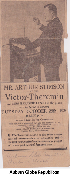 Art Stimson on the Victor-Thermin