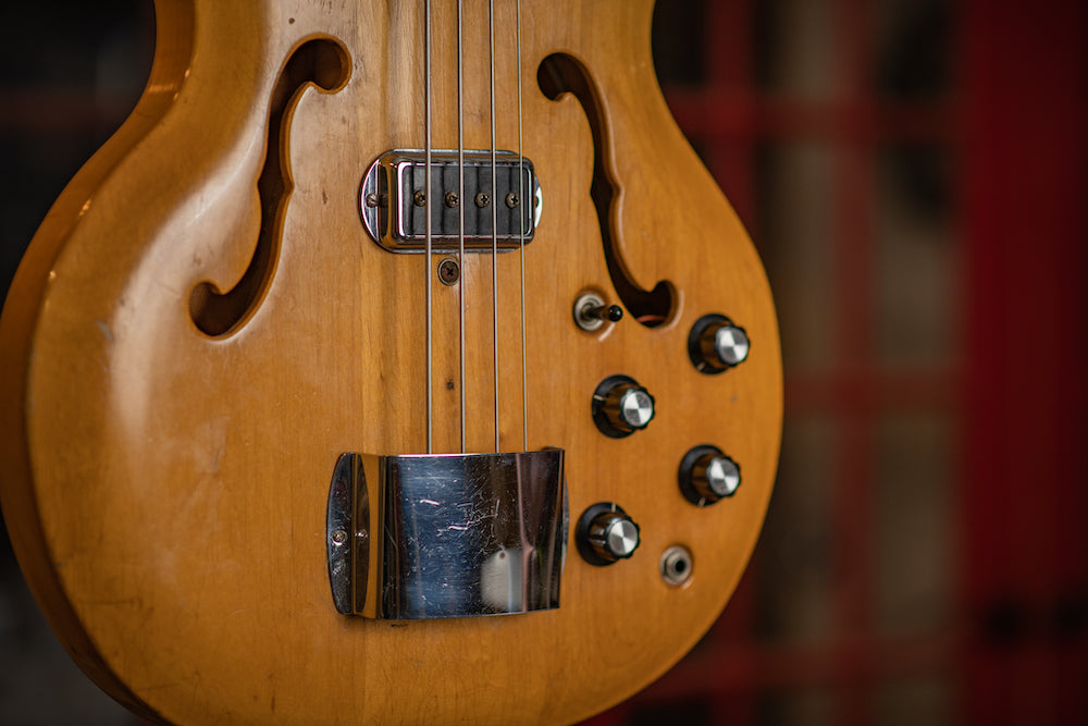 Close up of the Bartell Bass