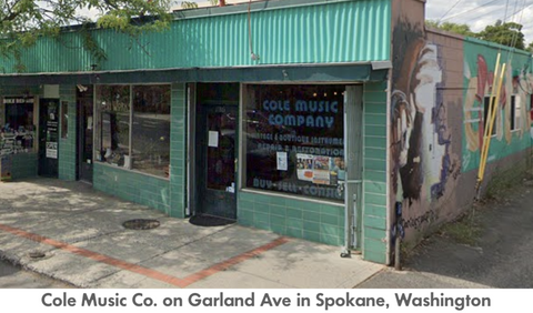 Cole Music Co on Garland Ave in Spokane Washington