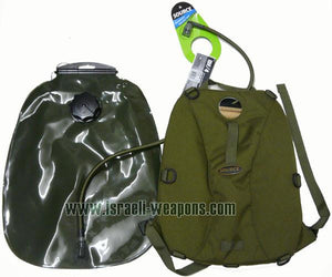 IWEAPONS® IDF Issue Hydration System 10 Liter Water Bag Bladder with Carry Straps