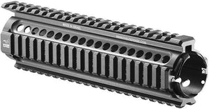 Mid Length M16 Aluminum Picatinny Quad Rail Handguard Tactical Mount System - 231mm