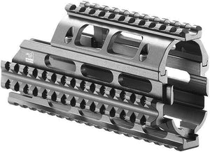 RPK Aluminum Picatinny Quad Rail Handguard Tactical Mount System