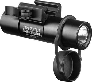 2nd Gen 1 inch Tactical Flashlight with Integrated Picatinny Mount - 3V