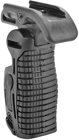 Tactical Folding Polymer Foregrip with Trigger Guard