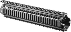 M16 Full Length Aluminum Picatinny Quad Rail Handguard Tactical Mount System - 315mm