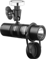 2nd Gen 1 inch Tactical Flashlight with Magnetic Base Mount - 3V