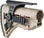 Cheek Rest with Dual Picatinny Rails for GL-SHOCK Buttstock
