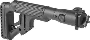 UAS Folding Buttstock with Cheek Piece for AK47 - Milled Receiver