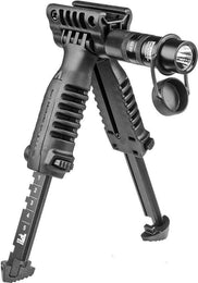 T-POD SL G1 Tactical Polymer Foregrip Bipod with Tactical Flashlight