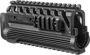 Galil Polymer Picatinny Quad Rail Handguard Tactical Mount System