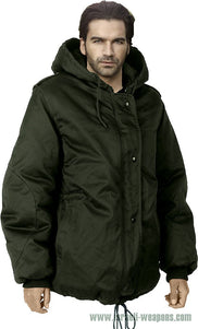 IDF Dubon Hooded Parka Jacket Coat Waterproof Cold Weather Winter Gear - Green