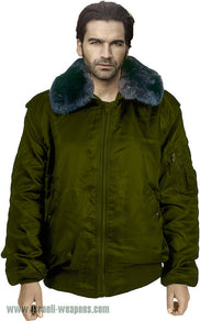 IDF Officer's Jacket Coat Army Waterproof Cold Weather Winter Gear Clothes - Green