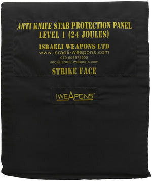 IWEAPONS® level 1 (24 Joules) 10x12inch/25x30cm Anti-Stab Proof Panel 0.5KG
