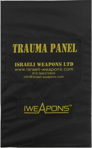 "IWEAPONS® Anti-Trauma 5x8""/12.5x20cm Panel for Bulletproof Vest"