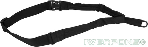 IWEAPONS® IDF 1-Point Bungee Rifle Sling Quick Release Black Gun Sling