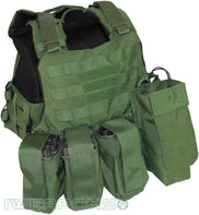 IWEAPONS® Commander MOLLE Bulletproof Vest IIIA / 3A – Assault Package