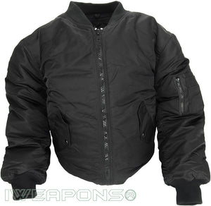 IWEAPONS® Flight Jacket Concealed Coat Bulletproof Vest IIIA/3A