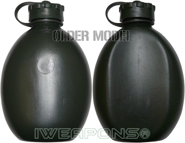 Iweapons 174 Idf Green Water Bottle Canteen 1 Liter Tactical