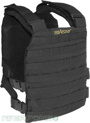 IWEAPONS® IDF MOLLE Plate Carrier for SAPI Hard Armor Plates