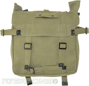 IWEAPONS® Original IDF Old Issue Cotton Canvas Backpack From 70s