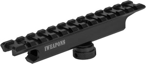 IWEAPONS® Picatinny Carry Handle Rail Mount Base for M4/M16/AR-15