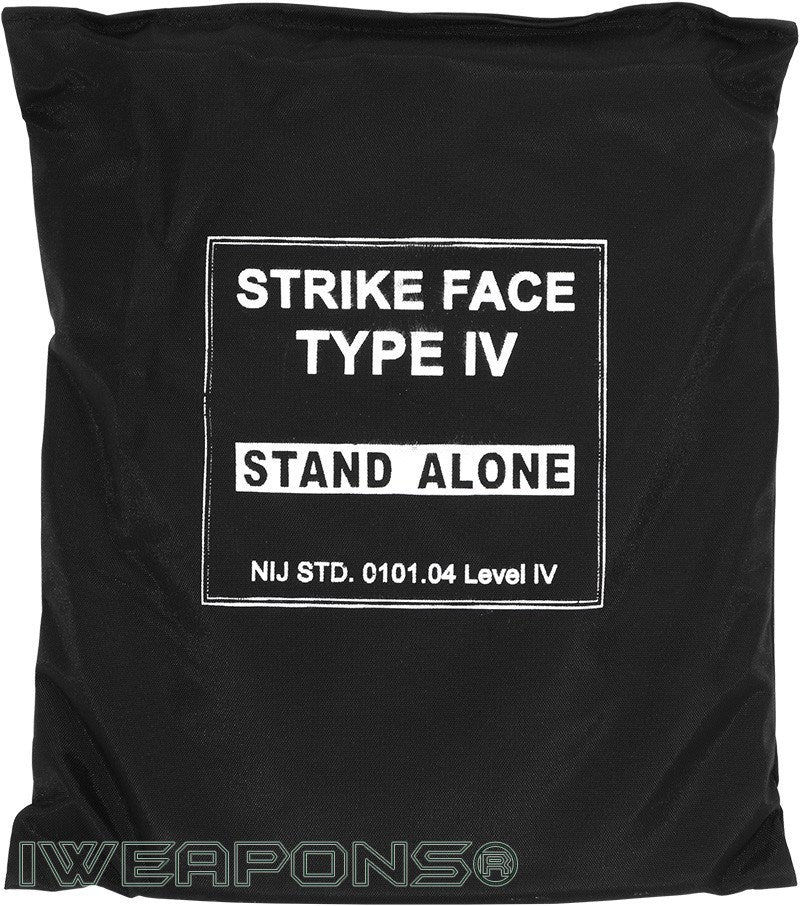 IWEAPONS® IV/4 Stand-Alone 10x12 Ceramic Plate, Body Armor 3 5KG