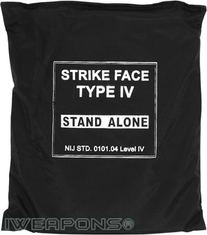 IWEAPONS® IV/4 Stand-Alone 10x12 Ceramic Plate, Body Armor 3.5KG